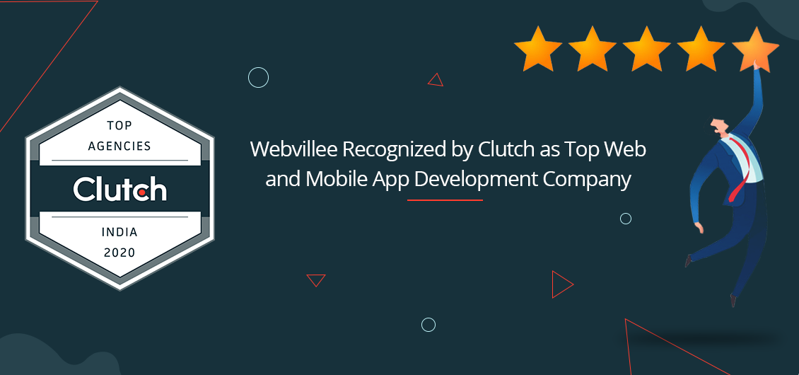 Webvillee Recognized As The Top Web Development Company