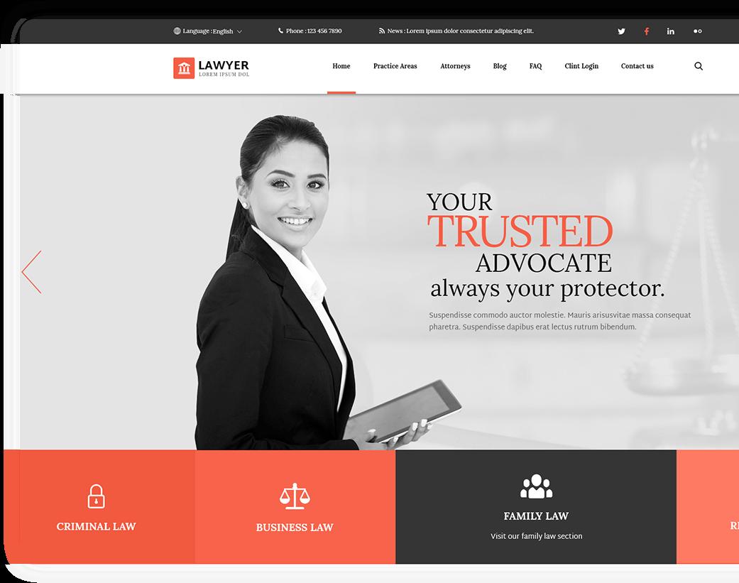 Lawyer HTML