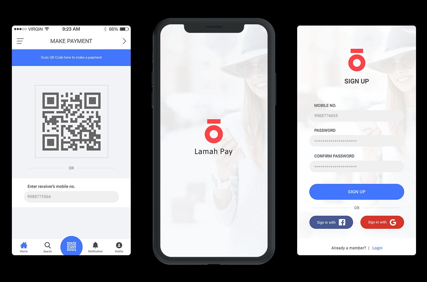 Lamah Pay- A Payment Transfer App