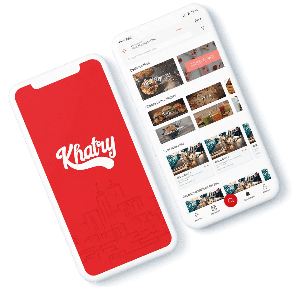 Khatry Food Delivery App